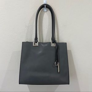 CALVIN KLEIN | Gray Juliette Medium Tote Handbag